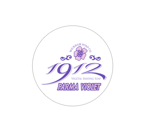 Wickham Soap Co. - Parma Violet - Shave Soap - 4.9 oz