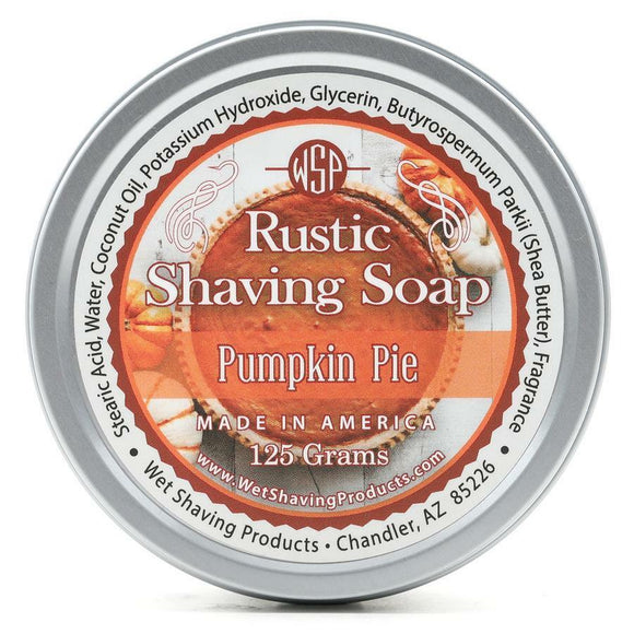 Wet Shaving Products Rustic Shaving Soap - Pumpkin Pie -