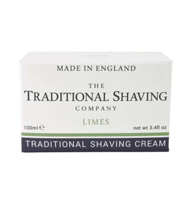 The Traditional Shaving Company, Limes, Shaving Cream, 100ml
