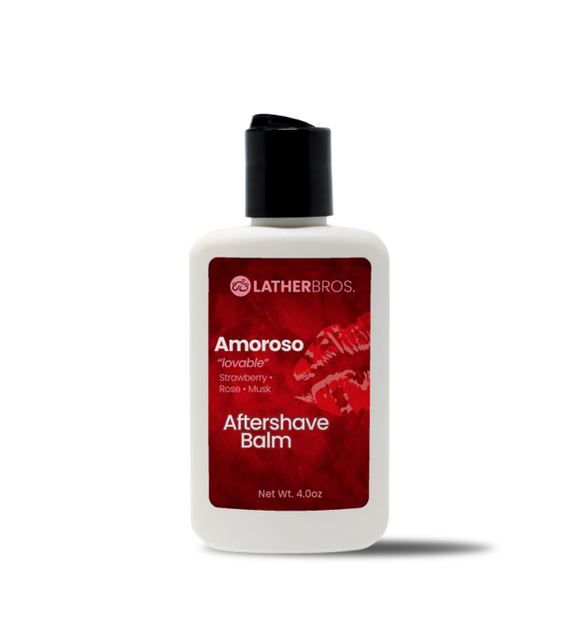 Lather Bros. Amoroso, 4 oz, Aftershave Balm