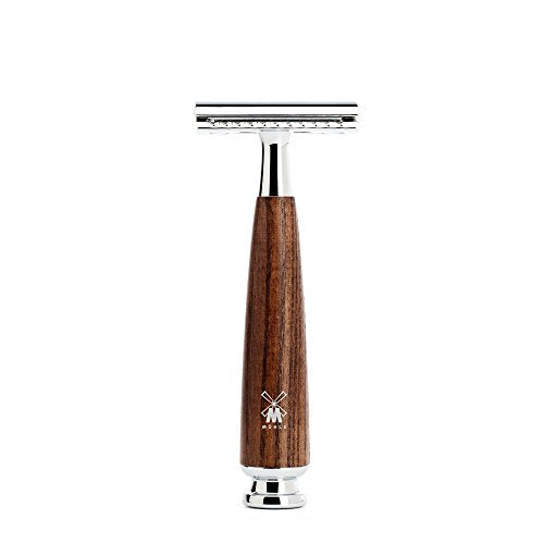 Muhle Safety Razor – RYTMO R220 SR Closed Comb – Steamed Ash