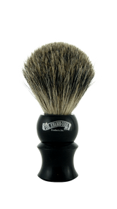 Col. Conk - Pure Badger Shaving Brush, Faux Ebony Handle