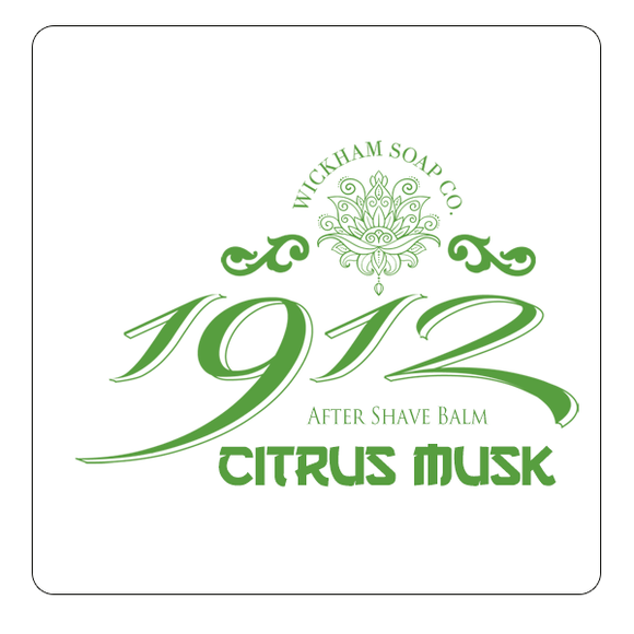 Wickham Soap Co. - Citrus Musk - Aftershave Balm 50g