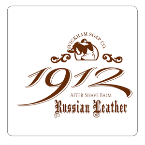 Wickham Soap Co. - Russian Leather - Aftershave Balm 50g