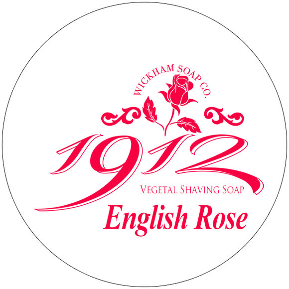 Wickham Soap Co. - English Rose - Shave Soap - 4.9 oz