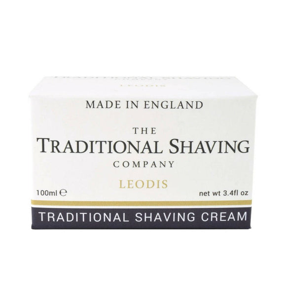 The Traditional Shaving Company, Leodis  Shaving Cream, 100ml