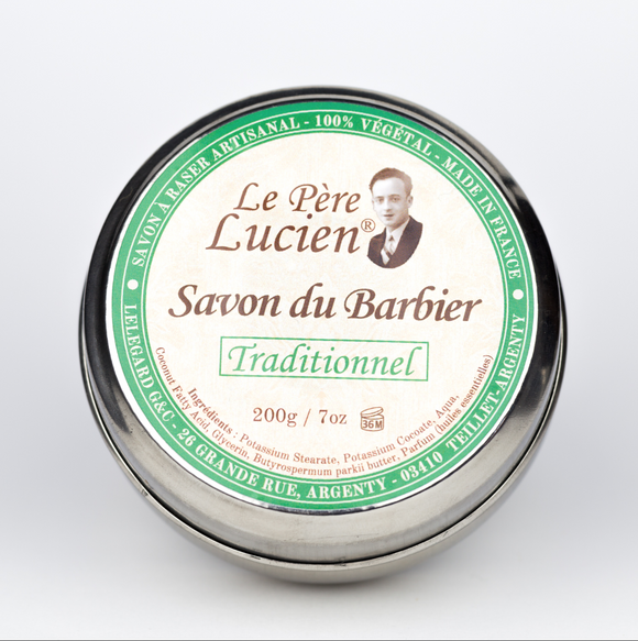 Le Pere Lucien- Traditional Barber - Shave Soap - 200g