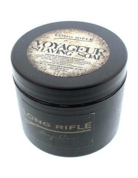 Long Rifle Soap Co. Shaving Soap, Voyageur