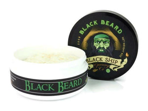 Black Ship Grooming Co. - Black Beard - Shaving Soap
