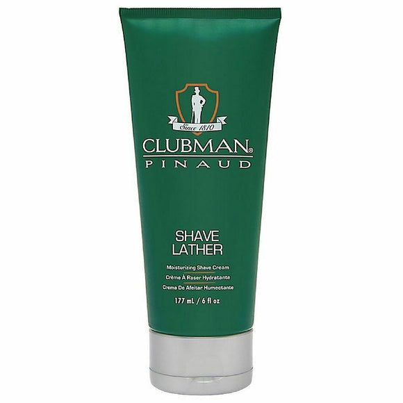 Clubman Pinaud Shave Lather Moisurizing Shave Cream 6 oz