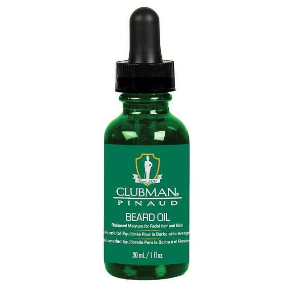 Clubman Pinaud Beard Oil 1 oz, New