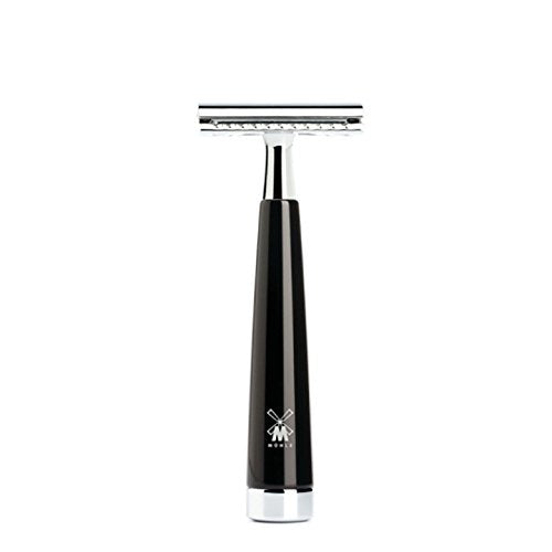 Muhle Safety Razor – LISCIO R146 SR Closed Comb – Black Resin