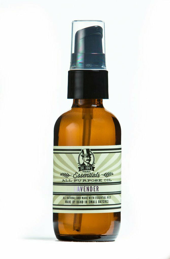 Dr. Jon's - Lavender - All Purpose Oil, Pre Shave Oil