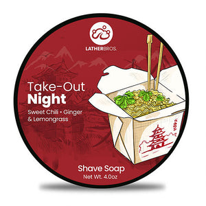Lather Bros. - Shave Soap - TakeOut Night