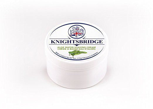 Knightsbridge - Aloe Water Shaving Cream 170g