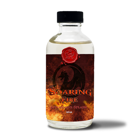 Lather Bros. - Soaring Fire, 4 oz, Aftershave Splash