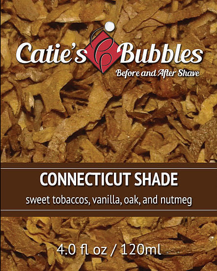 Catie's Bubbles - Connecticut Shade - Before and After Shave