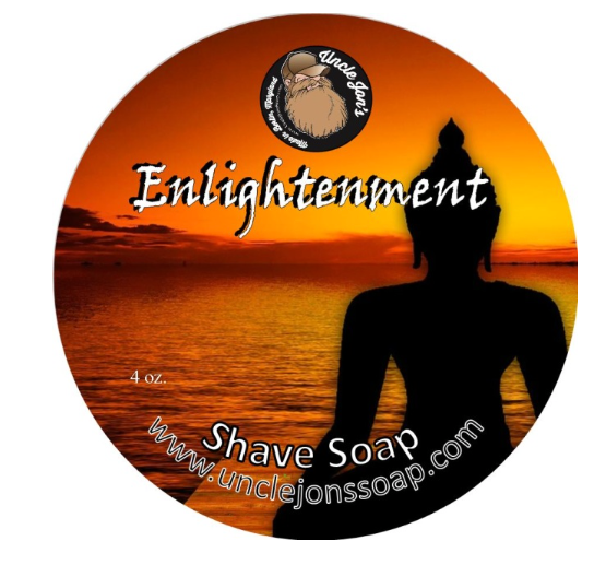 Uncle Jon's Shave Soap Enlightenment 2oz