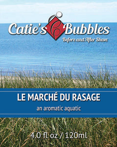 Catie's Bubbles - Le Marche du Rasage - Before and After Shave