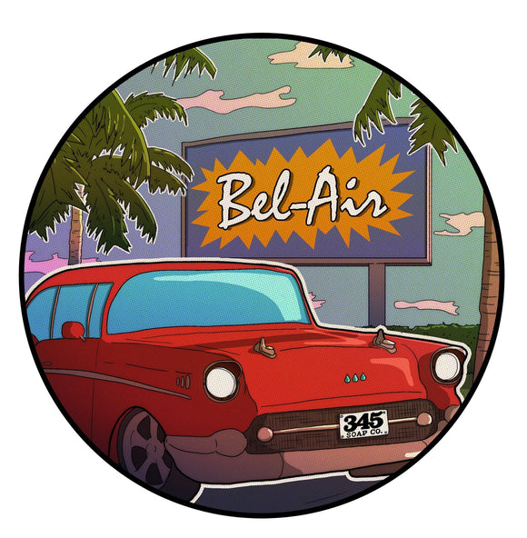 345 Soap Co. - Shaving Soap - Bel Air