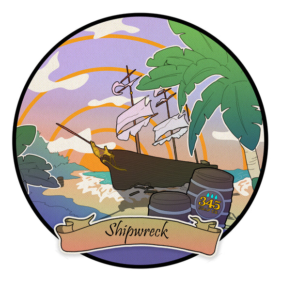 345 Soap Co. - Shaving Soap - Shipwreck