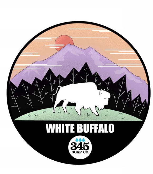 345 Soap Co. - Shaving Soap - White Buffalo!