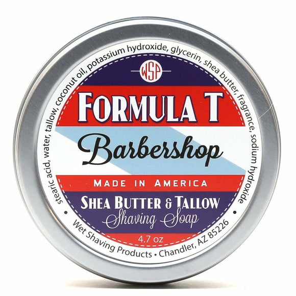 Wet Shaving Products FORMULA T Shaving Soap - Barbershop -