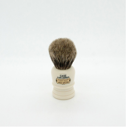 Simpsons Case C1 Pure Badger Shaving Brush