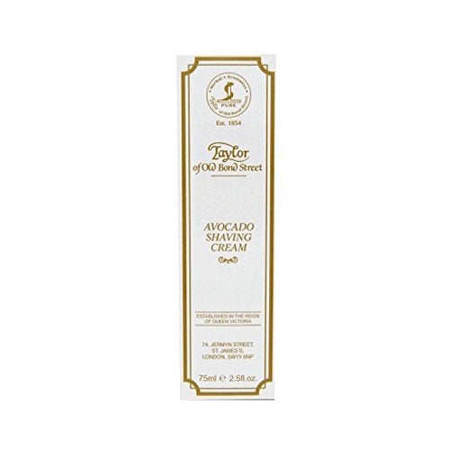 Taylor of Old Bond Street Avocado Shaving Cream Tube 75ml (2.5 fl oz)