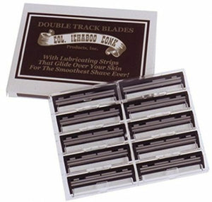 Col. Ichabod Conk Double Track Blades 10-pack