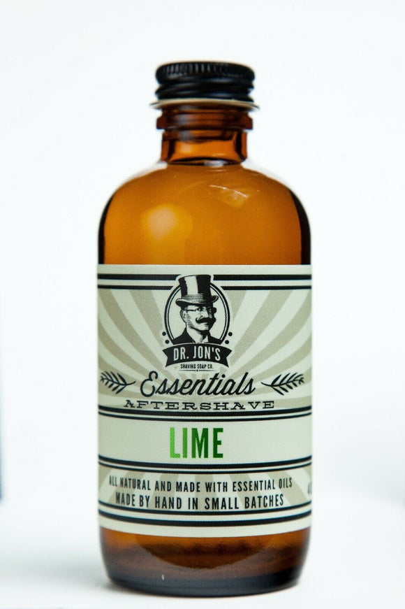 Dr. Jon's Essentials Lime Aftershave, 4 oz