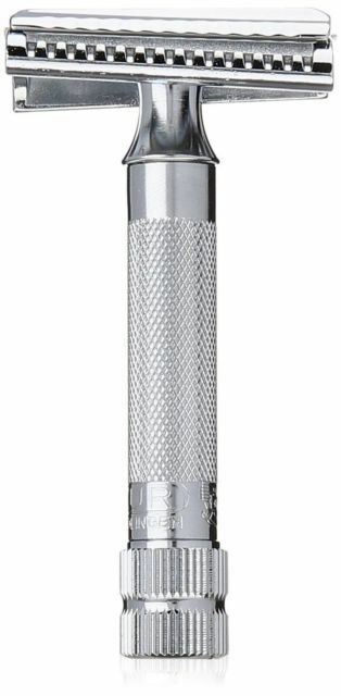 Merkur 37C (198) HD Safety Razor w/ Slant Bar