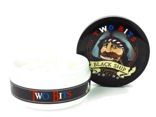 Black Ship Grooming Co. - Two Bits - Shaving Soap, Barbershop Scent