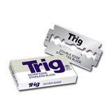 100 Treet TRIG Stainless Steel Double Edge Blades