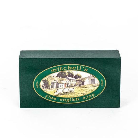 Mitchell's Original Wool Fat Soap -Gift Set, Pack of 3, (150g) Fine English Soap