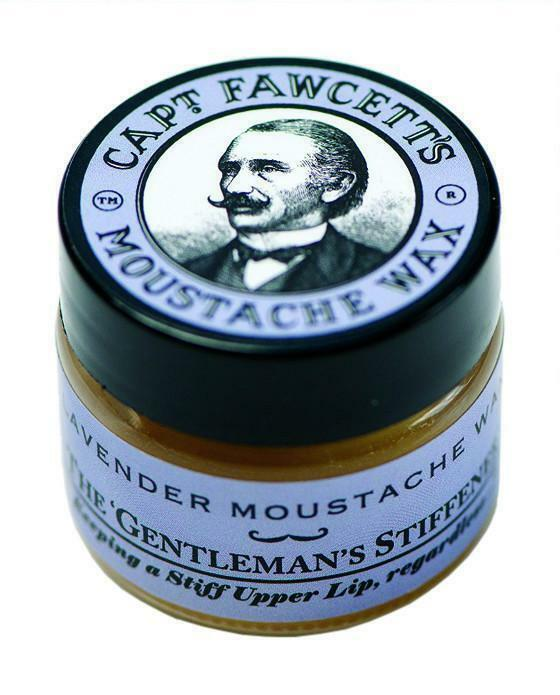 Captain Fawcett's Lavender  Moustache Wax (15ml)