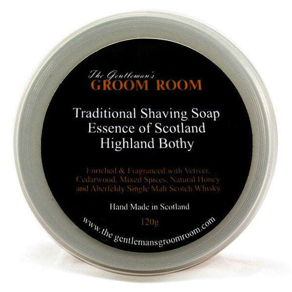 Essence of Scotland - Highland Bothy - Traditional Shaving Soap 120g
