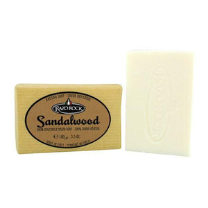 RazoRock Artisan Bar Soap - Sandalwood