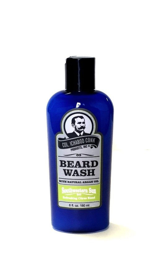 Col. Conk Natural Beard Wash - Southwestern Sun