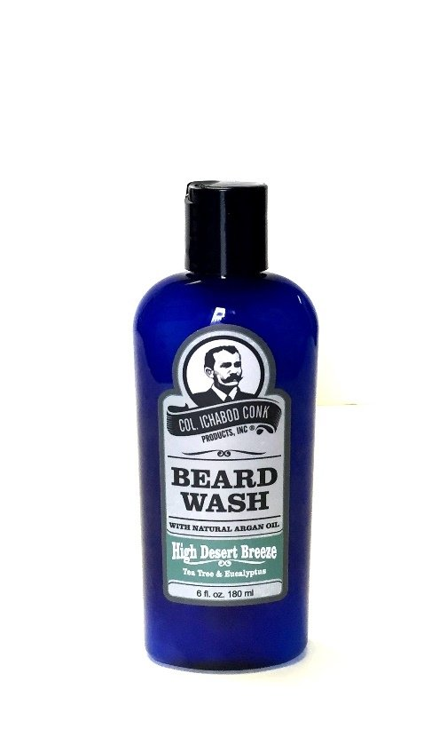 Col. Conk Natural Beard Wash - High Desert Breeze