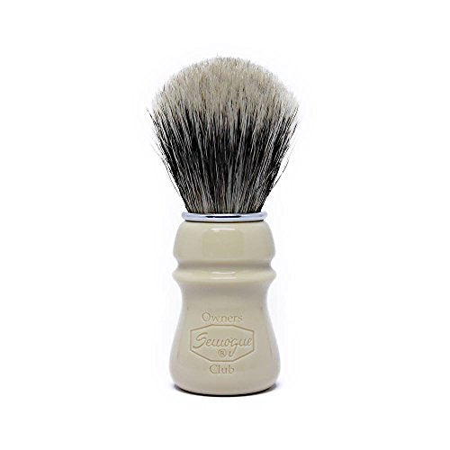 Semogue Owners Club Taj Resin Boar and Badger Blend Edition Shaving Brush