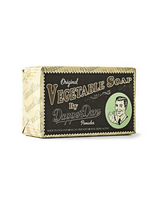 Dapper Dan Vegetable Body Soap 90g Bar