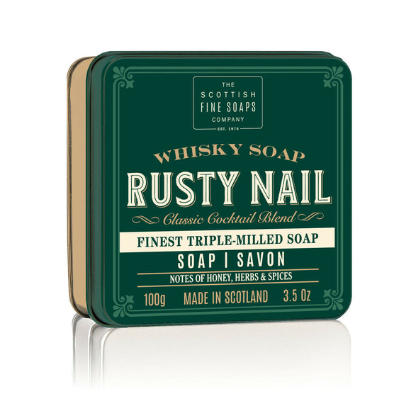 Scottish Fine Soaps Rusty Nail in a Tin 100g 3.5oz