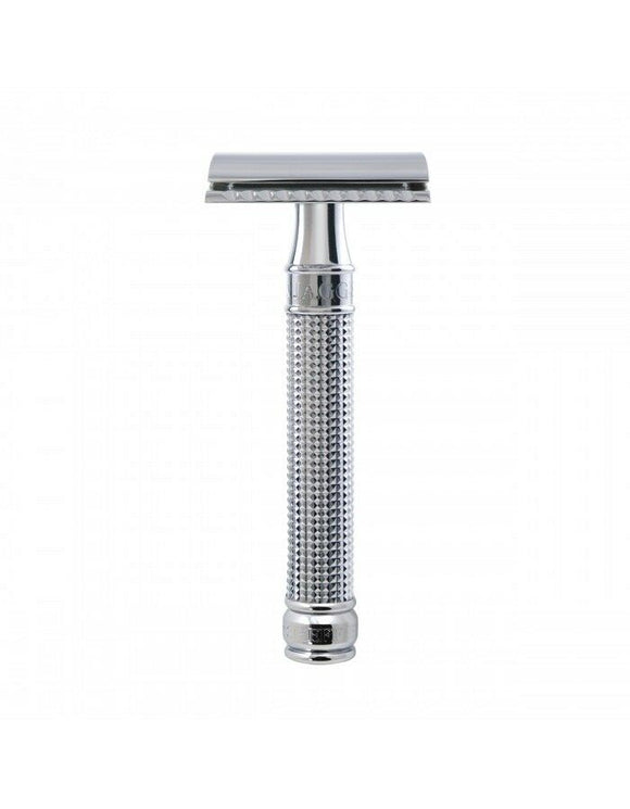 Edwin Jagger Double Edge Safety Razor 3D Laser Diamond Grip Handle