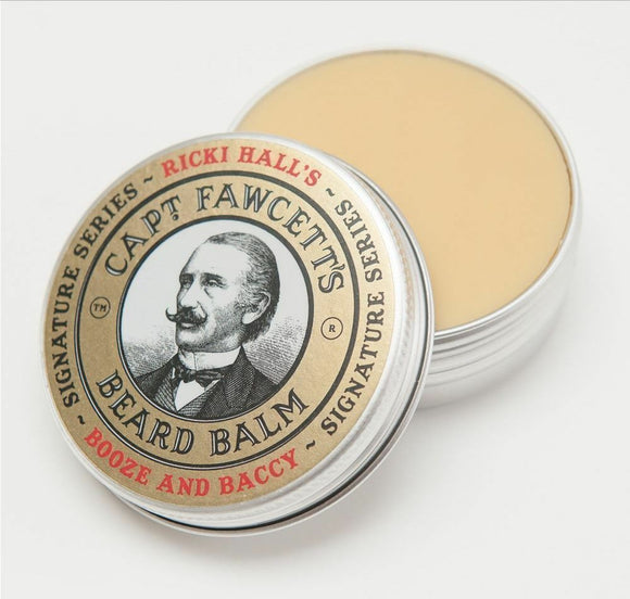 Captain Fawcett Ricki Hall Booze and Baccy Beard Balm, 60ml