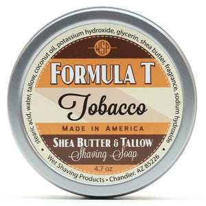 Wet Shaving Products FORMULA T Shaving Soap - Tobacco -