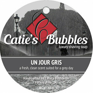 Catie's Bubbles - Un Jour Gris - Luxury Shaving Soap 4oz