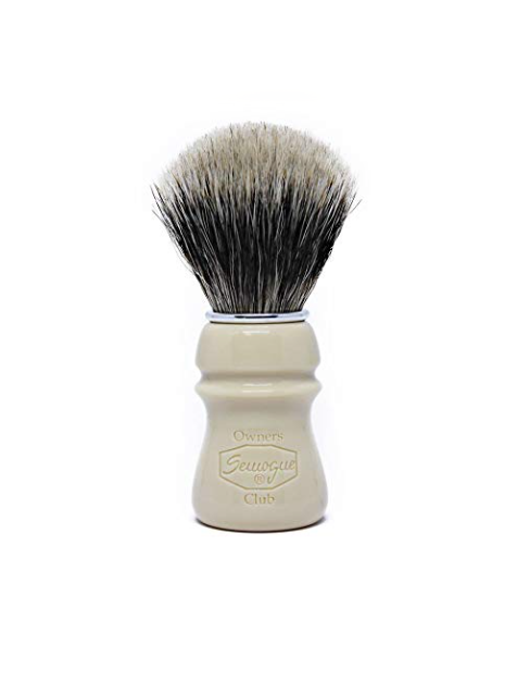 Semogue Owners Club - 2 Band Badger -Taj Resin  Shaving Brush