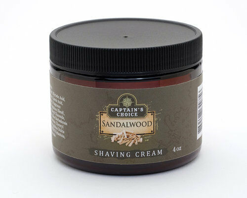Captain's Choice - Sandalwood - Shaving Cream