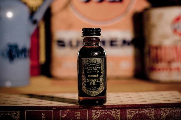 The Holy Black - Snake Oil - Pre-Shave & Beard Oil